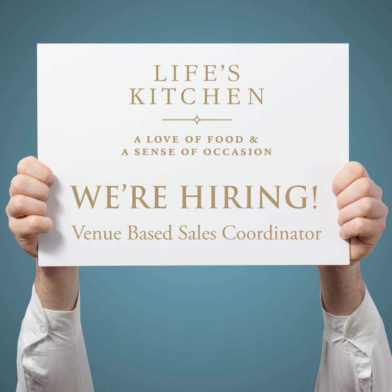 We're Hiring Venue Based Sales Coordinator