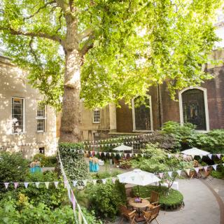 A summer party at Stationers' Hall