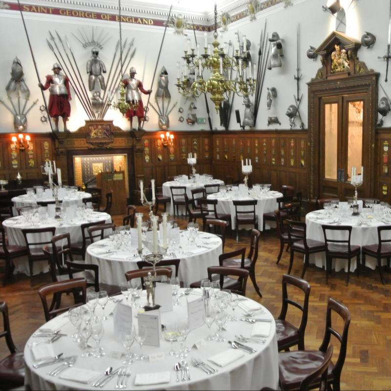 Venue of the Month - Armourers' Hall 2018