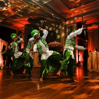 Life's Kitchen – Mr Todiwala Bhangra Dancers