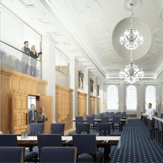 Life's Kitchen – Butchers Hall - Artists Impression of the Livery Hall