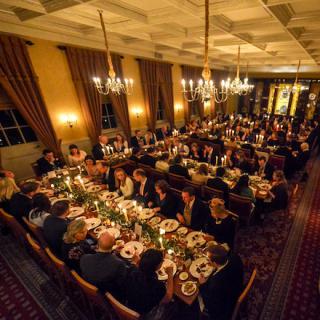winter wedding reception pewterers hall