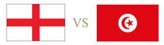 England vs Tunisia