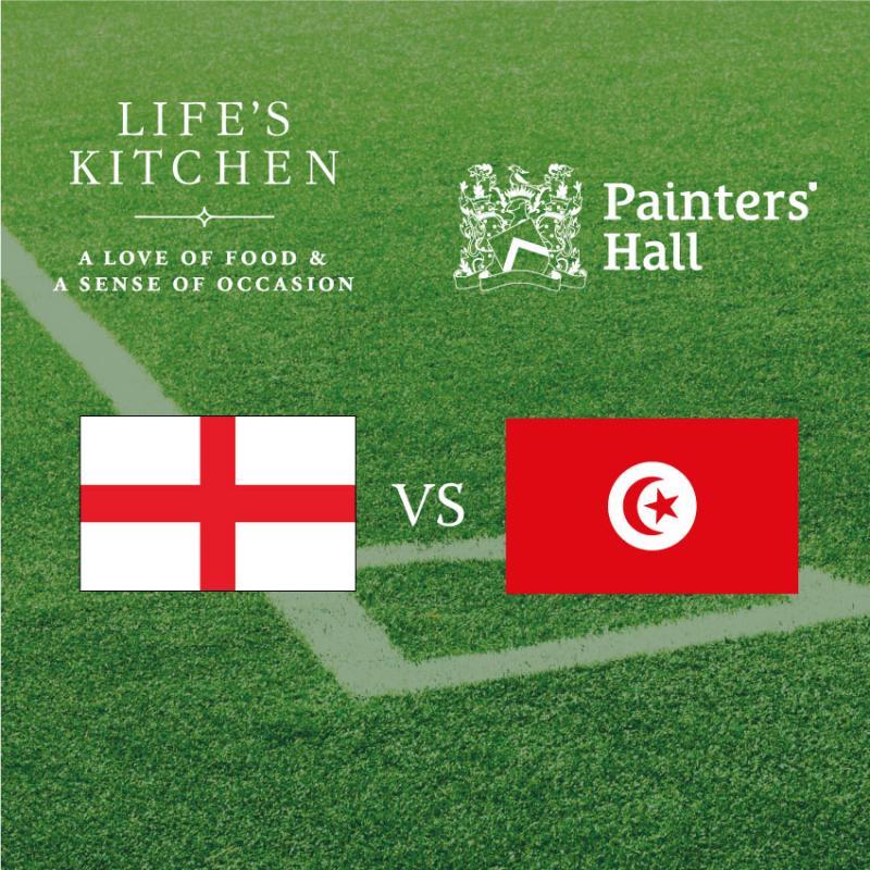 England v Tunisia