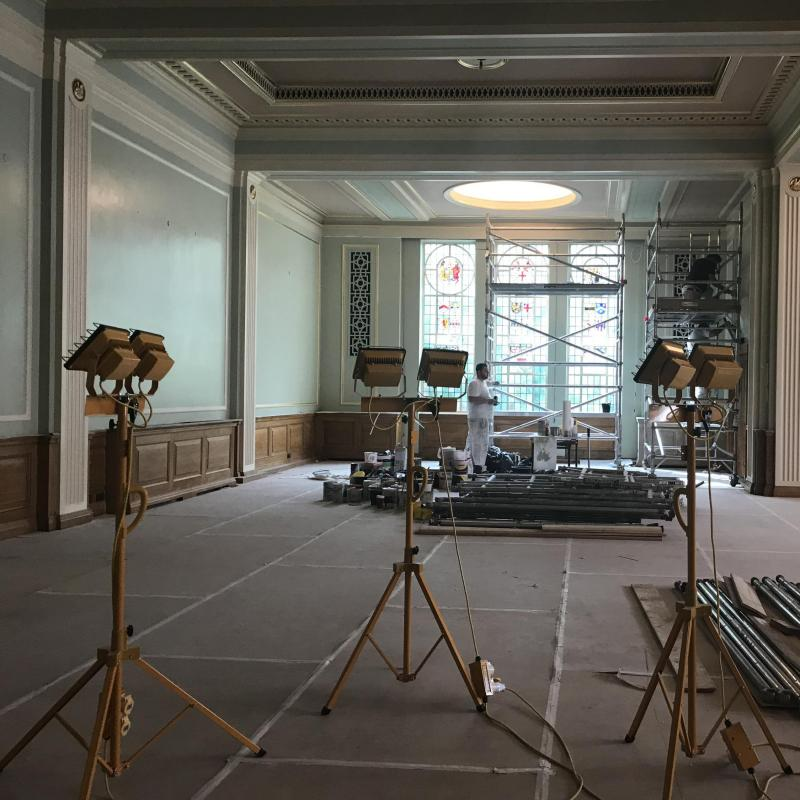 Painters' Hall Reopens this week following extensive redecoration