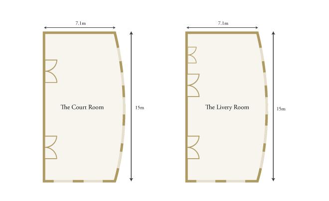 Pewterers' Hall floorplan
