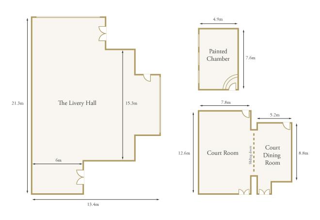 Life's Kitchen - Painters' Hall - Floorplan