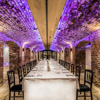 Life's Kitchen - Glaziers Hall - Dining in the Arches