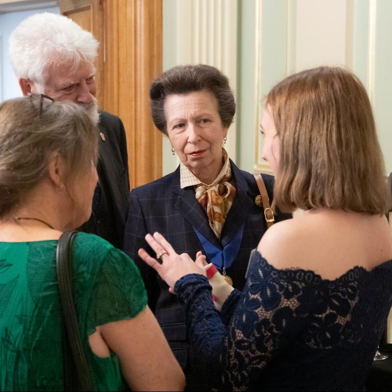 Painters' Hall Welcomes The Princess Royal