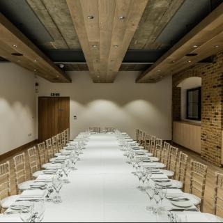Life's Kitchen - Glaziers Hall - Dining in the Bridge Room