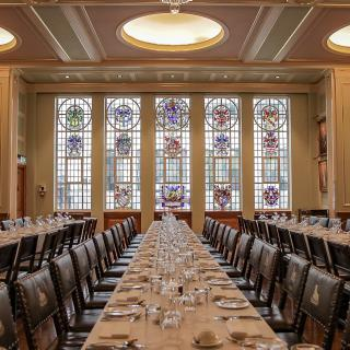 Life's Kitchen - Painters Hall - Dining in the Livery Hall