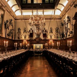 Life's Kitchen – Armourers Hall - Dining in the Livery Hall