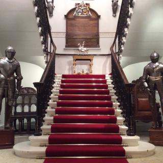 Life's Kitchen – Armourers Hall - Staircase