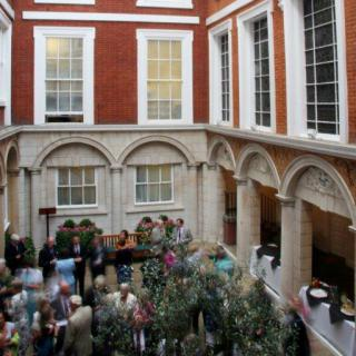 Life's Kitchen - Tallow Chandlers Hall - Drinks Reception in the Courtyard