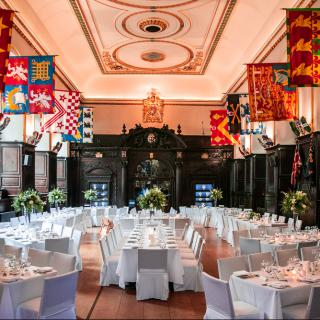 Life's Kitchen - Stationers Hall - Dining in the Livery Hall