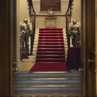 Life's Kitchen - Armourers Hall - Entrance & Staircase