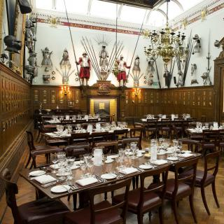 Life's Kitchen - Armourers Hall - Dining in the Livery Hall