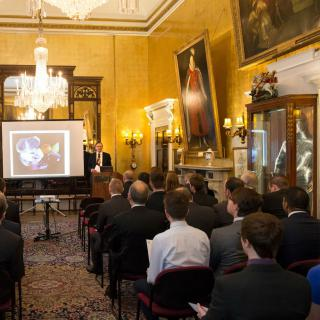 Life's Kitchen - Armourers Hall - Presentation in the Drawing Room