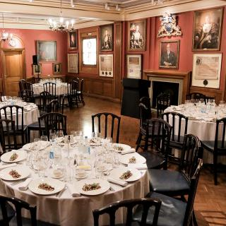 Life's Kitchen - Painters' Hall - Dining in the Court Room