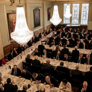 Life's Kitchen - Painters' Hall - Dining in the Livery Hall