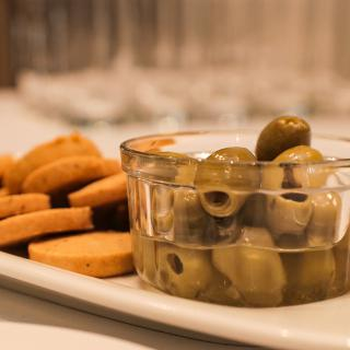 Life's Kitchen - Parmesan Shortbreads and Marinated Olives