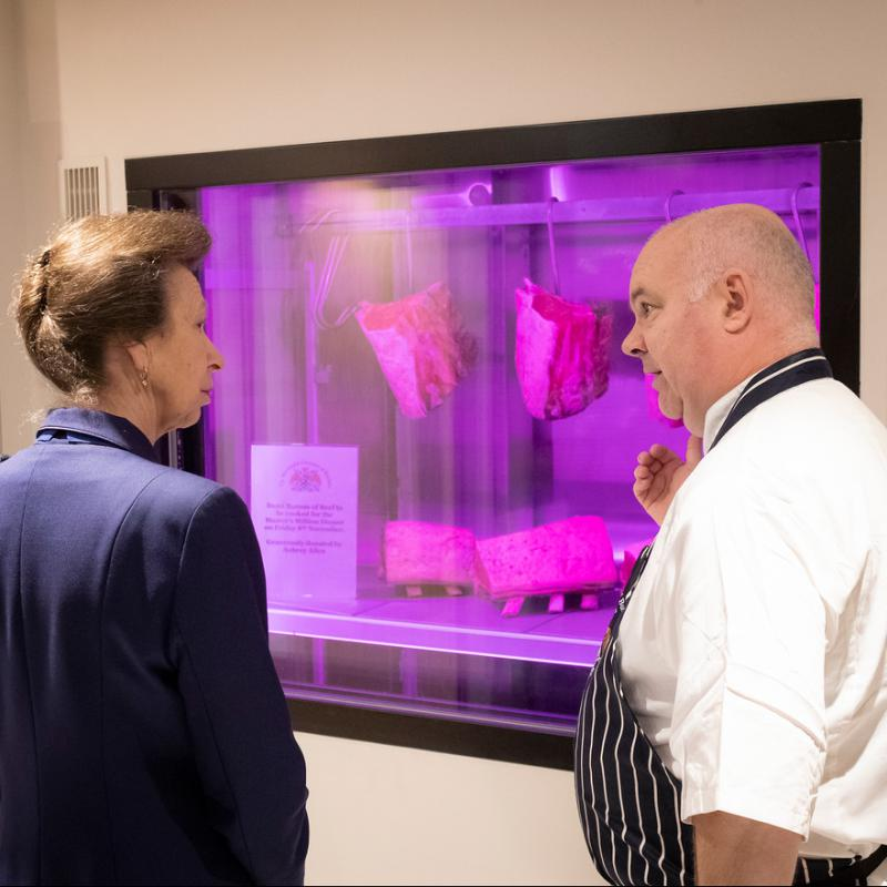 HRH The Princess Royal officially opens Butchers' Hall -