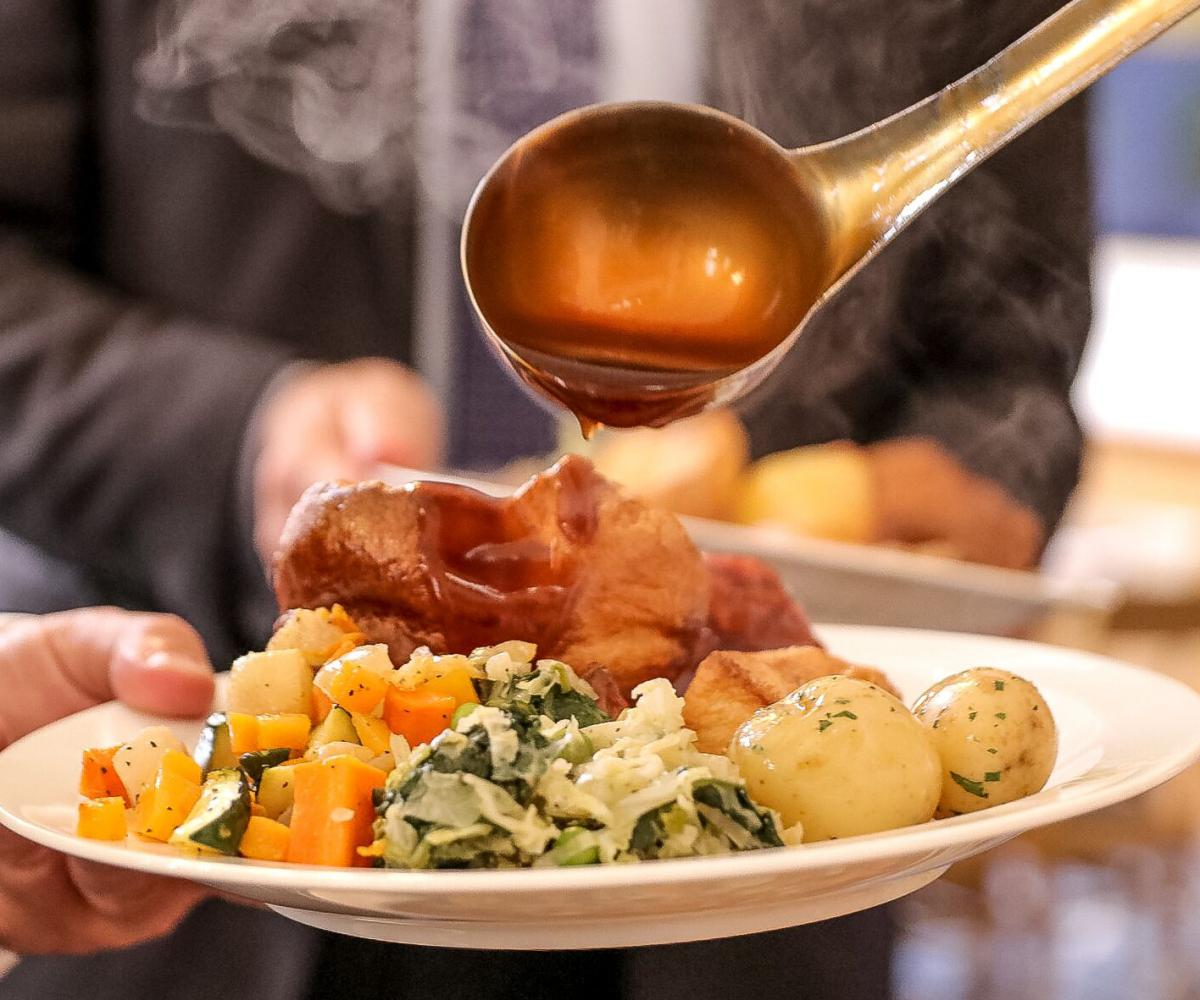 Carvery lunch background image