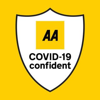 AA Covid-19 Confident Accreditation Badge