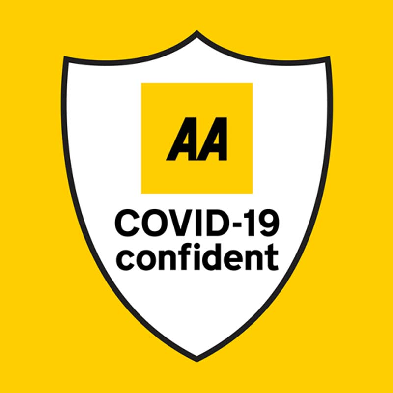 AA Covid-19 Confident & AIM Secure