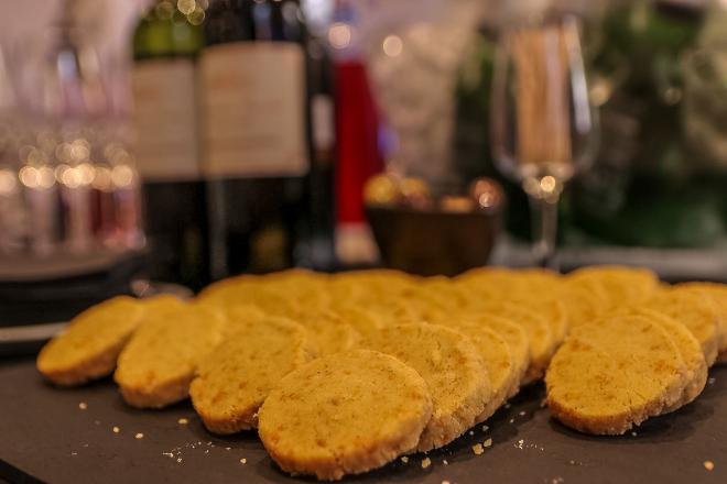 Life's Kitchen - Parmesan Shortbreads