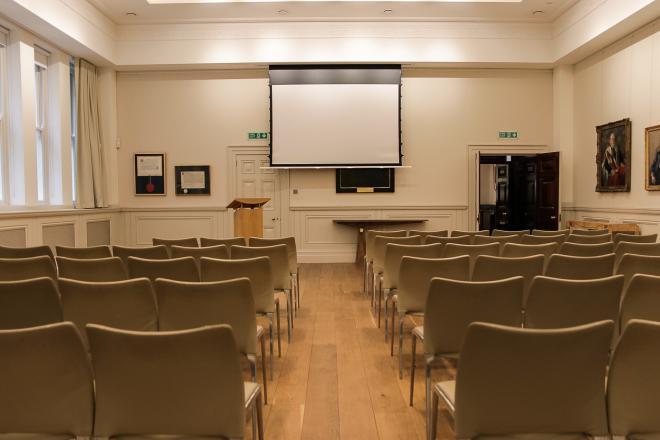 Furniture Makers Hall - David Burbidge Room Theatre Style
