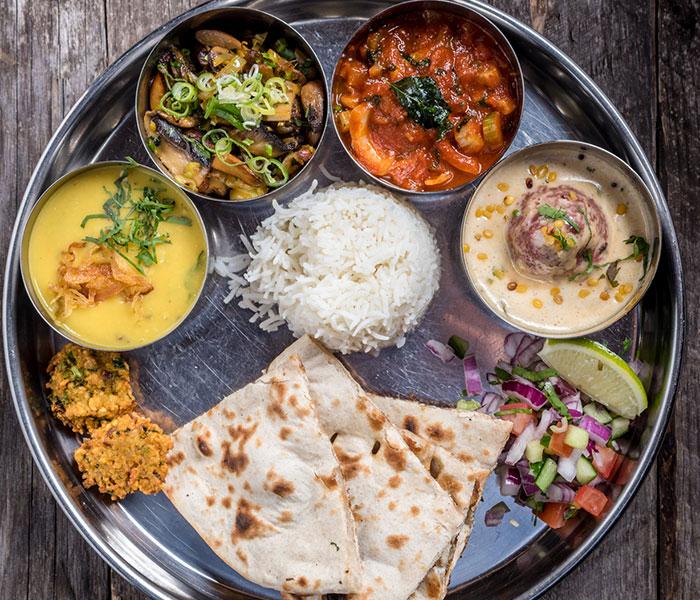 Life's Kitchen – Indian Food Platter